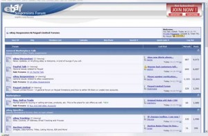 eBay Stealth Forum – eBay Suspension and PayPal Limited